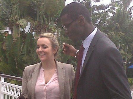 Visite du Backstopping du PAP de B&S Europe à Goma